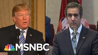 New Report: Michael Cohen Expects Trump Ally Attacks To 'Ramp Up' | The Beat With Ari Melber | MSNBC