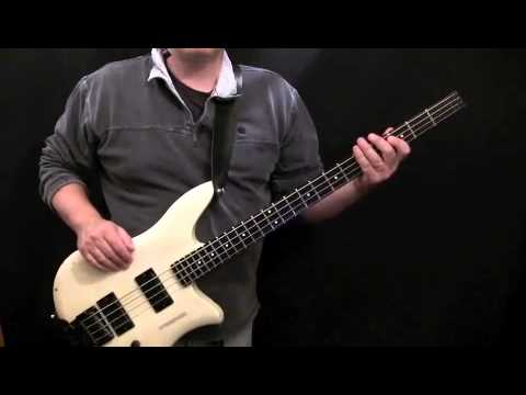 how to play super freak on bass