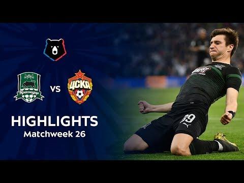 Highlights FC Krasnodar vs CSKA (2-0)