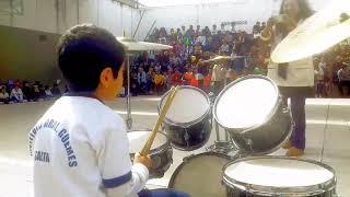 6 years drummer Augusto Sivila
