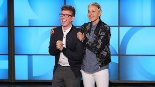 Ellen and Tyler Oakley Celebrate the Best of ellentube!