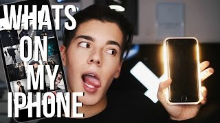 One of joeconza's most viewed videos: WHAT'S ON MY IPHONE 7 PLUS!