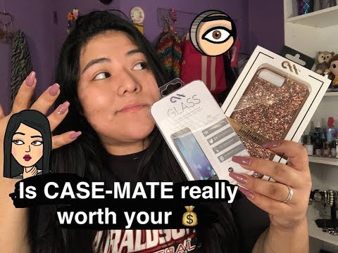 Is CASE-MATE really worth your money? UNBOXING PACKAGE + REVIEW!