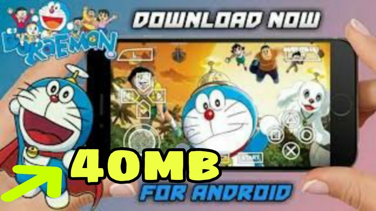 40mb Doraemon 3 Game For Psp Doraemon Game For Android Psp Highly Compressed With Gameplay Proo Youtube