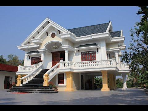 Mẫu biệt thự vườn 1 tầng phong cách tân cổ điển tại Dương Kinh Hải Phòng
