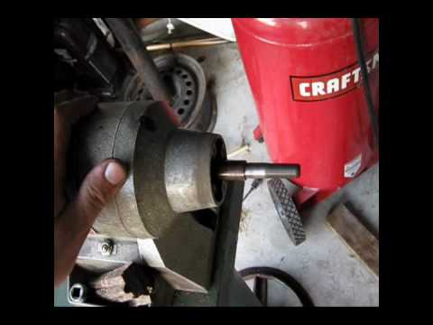 Wissota Bench Grinder Repair Youtube