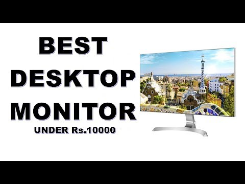 Best monitor under 10000 in india - LG, HP, Asus & More [Hindi]
