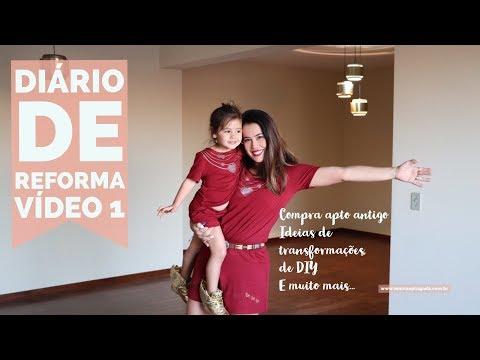 Diário de Reforma (#1): Compra de apartamento antigo, tour apto ANTES, idéias, DIY,...
