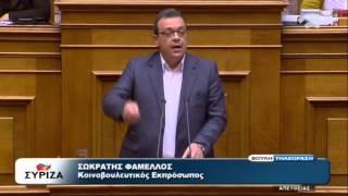 Σ. Φάμελλος: Το όχι ήταν του λαού, οι δικτάτορες κατάφεραν μόνο το ξεπούλημα της πατρίδας