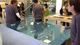 Apple Store Force Touch Table