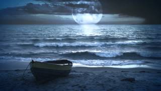 iStock Fantastic landscape video background  Moonlight at the sea  ocean HD1080