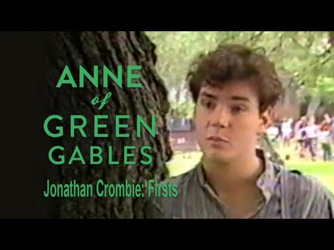 Jonathan Crombie: Firsts