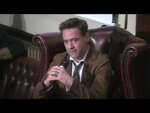 Robert Downey Jr.  | The Cambridge Union
