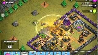 Clash Of Clans special moments#1 3 star on rolling terror single player mode