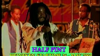 HALF PINT with Lloyd Parks & We The People - Live in Kingston, Jamaica 2002 pt 2/2