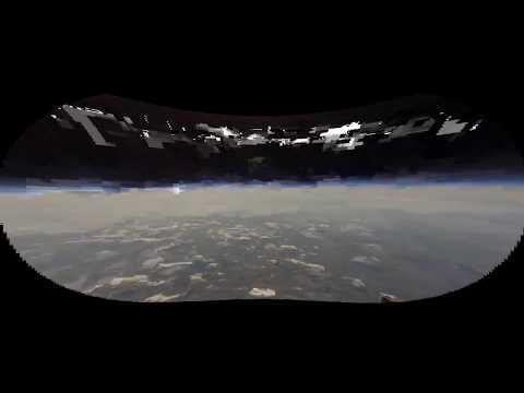 Lense correction of balloon flight video FLAT EARTH thumbnail
