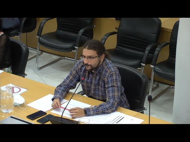 """Terrazas COVID. Álvaro Vidal: """"La opinión de los vecinos no está siendo tenida en cuenta"""""""