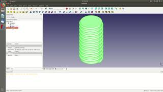 How to make threaded parts in FreeCAD .17