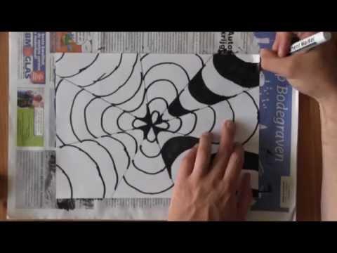 Water druppel tekenen in 3d voor beginners by drawing with for Tekenen in 3d