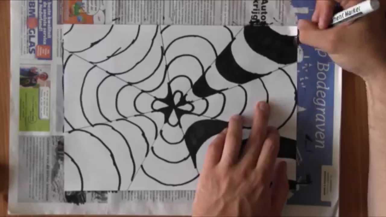 Fabulous Optische illussie tekenen - YouTube FQ61