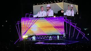 Backstreet Boys DNA tour Milano 2019 i want it that way