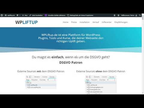 WordPress DSGVO Plugin Patron