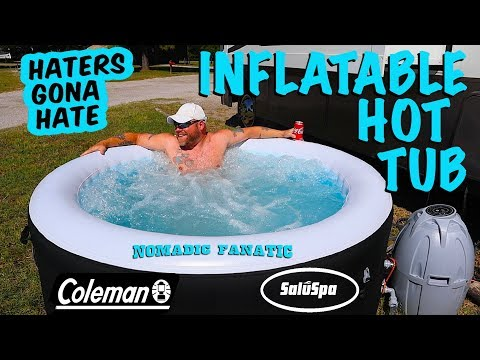 Blue Hole, Blue Swallow, & Camping With A Hot Tub?!