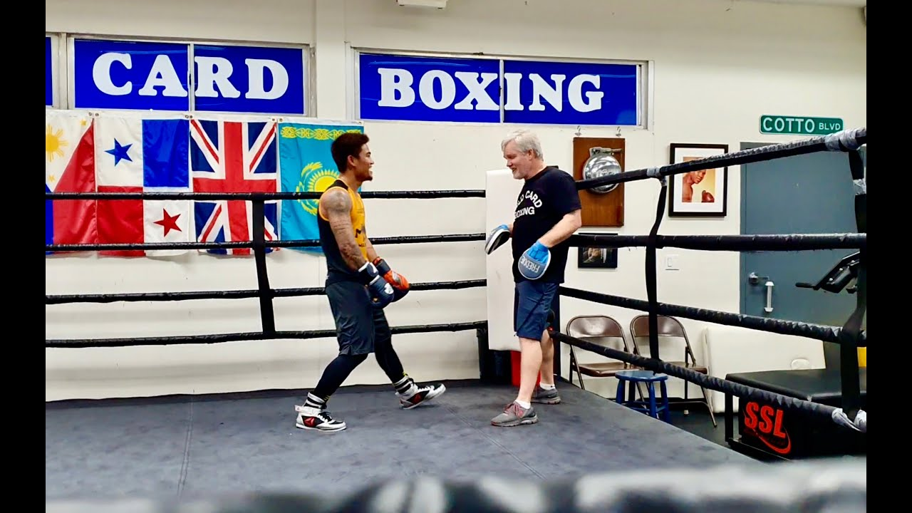 magsayo mark boxing gym