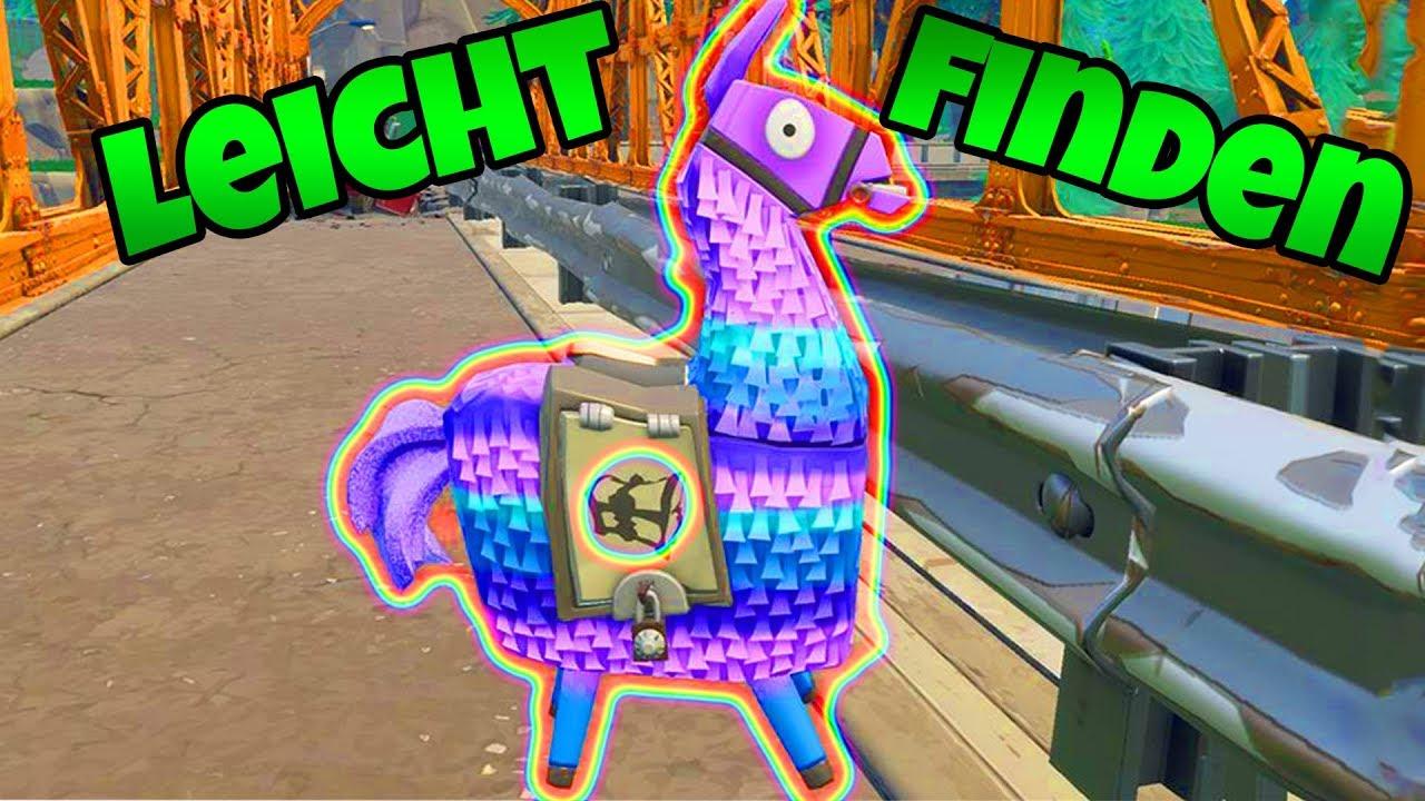 Lama sehr leicht finden vorratslama fortnite battle royale youtube - Lama pictures fortnite ...