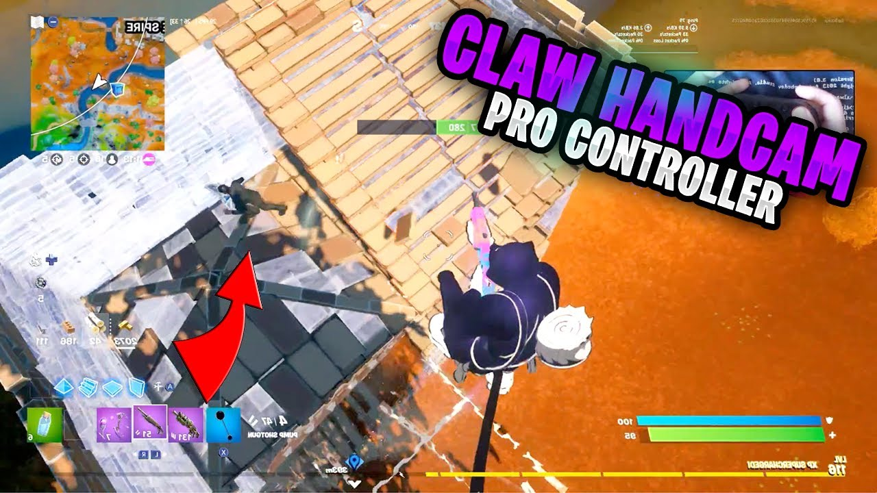 Fortnite on the Nintendo Switch Pro Controller #369