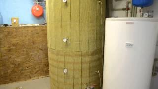 Моя гелиосистема - Часть 11. UPGRADE теплообменника в ТА!(Усовершенствование теплообменника в ТА! Добавил верхний змеевик.Вопросы можно задавать здесь http://house4u.com.ua/f..., 2014-08-12T20:05:31.000Z)