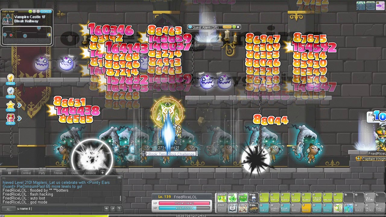 MapleSEA this map can farm throwing stars but flooded with botters sad case