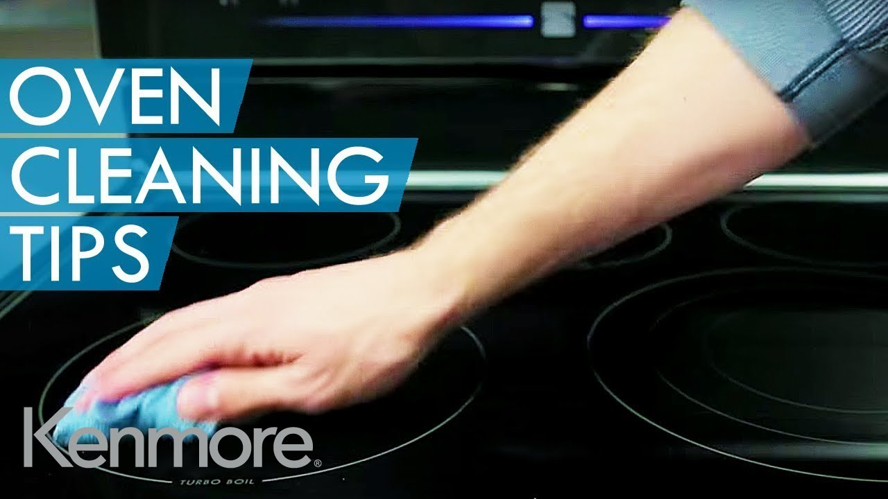 How to clean kenmore elite self cleaning oven