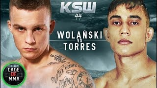 KSW 44 - Filip Wolański vs Daniel Torres