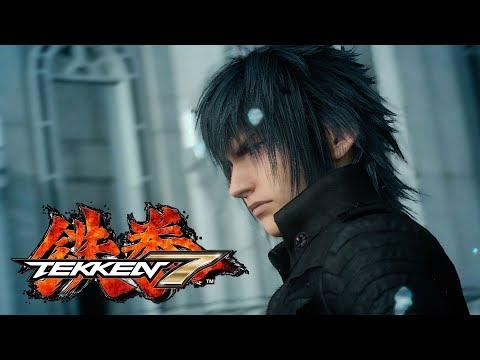 TEKKEN 7 Crossover Final Fantasy XV Play as Noctis All Moves in 4K Gameplay