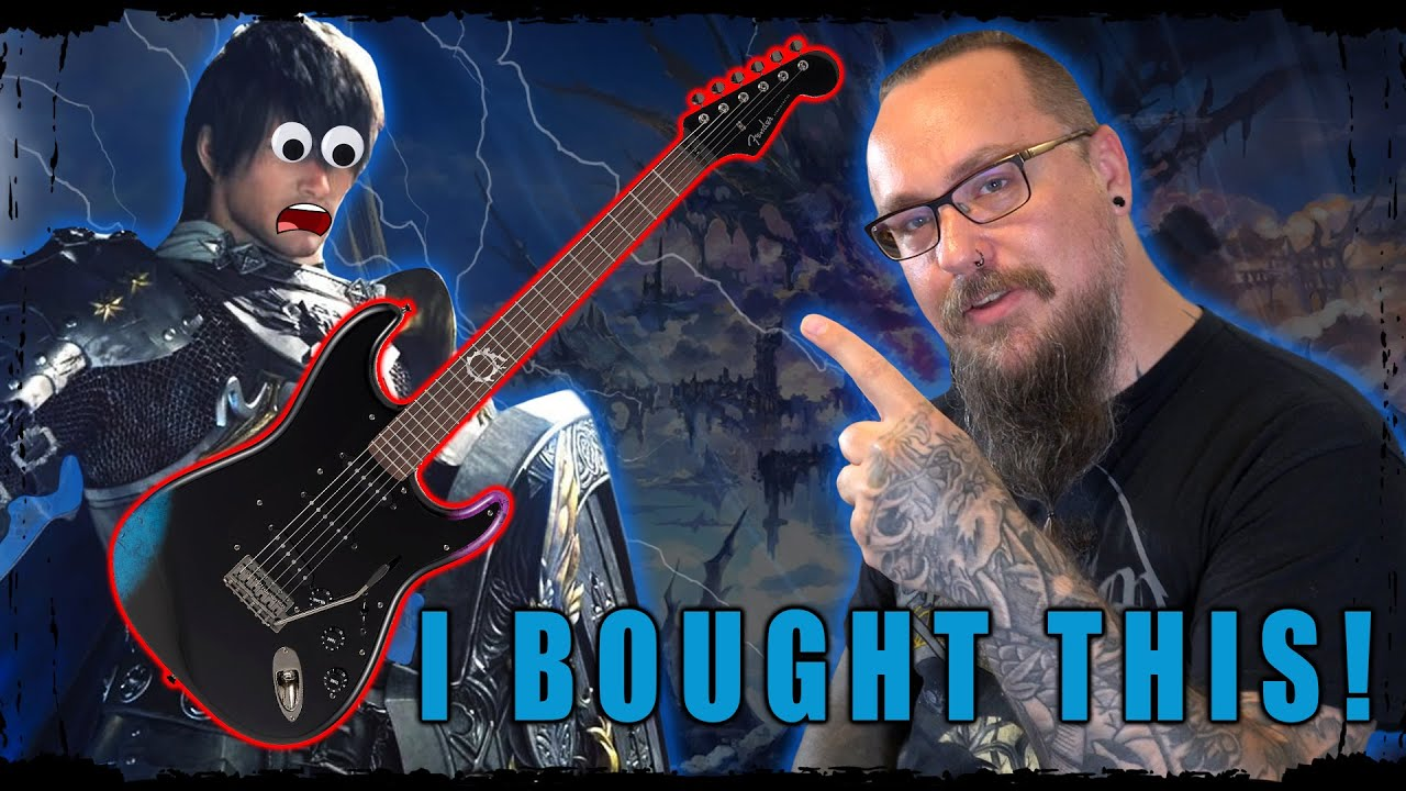LET'S MAKE A FINAL FANTASY XIV EPIC METAL COVER EP! - With the limited edition Fender guitar
