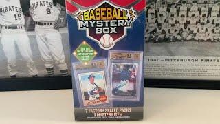 Baseball Mystery Box Break! Awesome Packs!