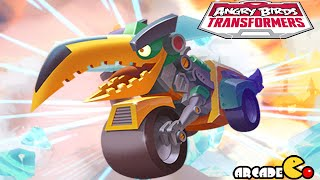Angry Birds Transformers: New Character Energon Starscream Rescued Gameplay Part 24