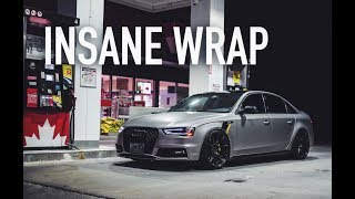 THE AUDI S4 IS BACK - WRAP REVEAL