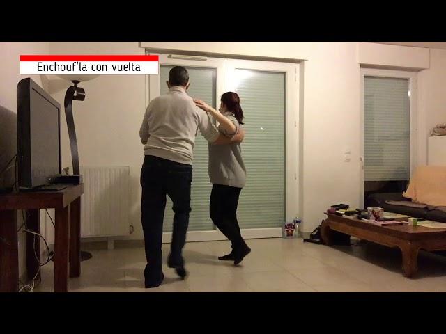 Salsa Débutant 16 02 21 Amandine & Davidou