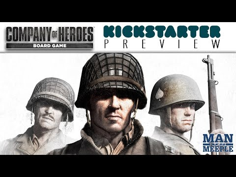 Company Of Heroes The Board Game Preview By Man Vs Meeple (Bad Crow Games)