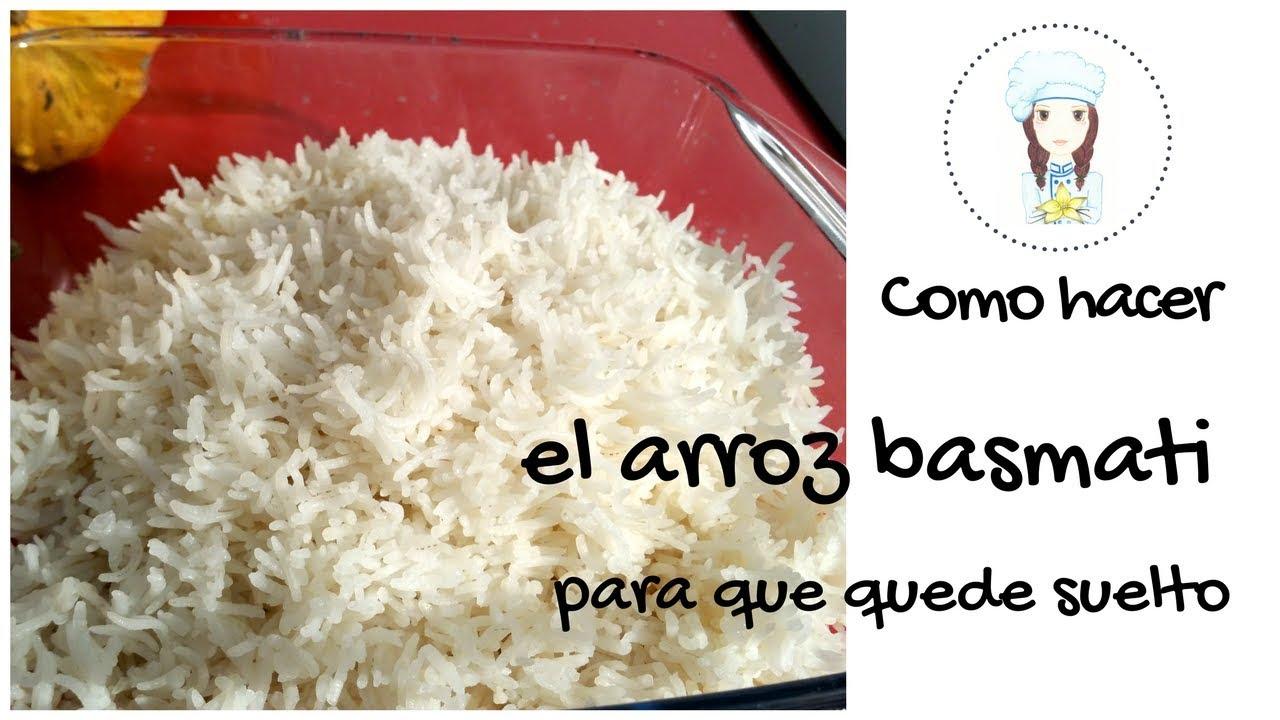 como hacer para que el arroz quede suelto y seco