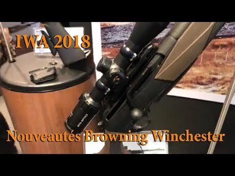 IWA 2018   Nouveautés Browning WinchesterBrowning