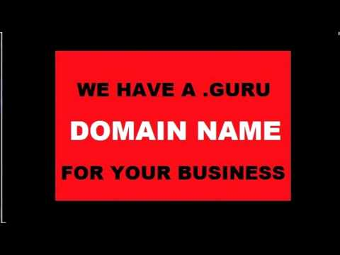 .Guru Domains For Sale For Personal or Professional Use