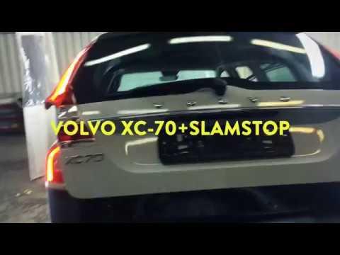 Тюнинг VOLVO XC70. Установка SlamStop СламСтоп. Автомобильный Доводчик Двери VOLVO XC70 СПб