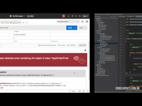 Vídeo no Youtube: [Symfony Serializer] - Corrigindo Circular Reference / API REST