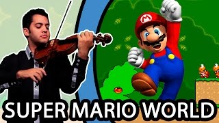 SUPER MARIO WORLD - Title Theme (Violin / Violino)