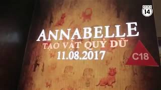 Clip  Khán giả Việt kinh hãi khi xem ma búp bê Annabelle!   Xem vn