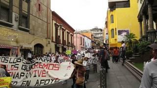 Marcha x Ayotzinapa, Cuernavaca 20-nov-2014