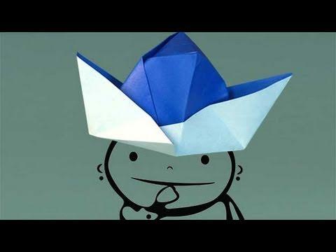 Chapeau En Papier Comment Faire Origami Youtube